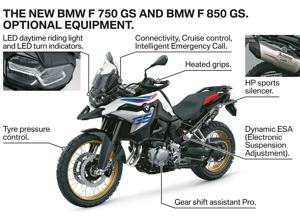 2019 BMW F 850 GS