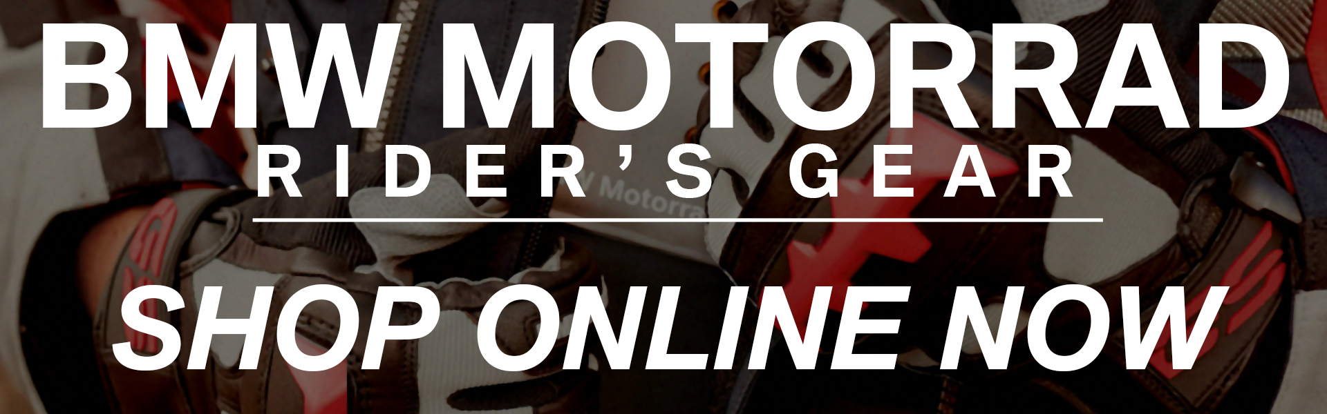BMW Motorrad Rider's Gear Now Available Online - Wear The Best When You Ride The Best